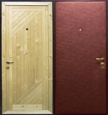 посоветуйте недорогую металлическую дверь для дачи