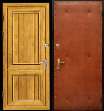 антивандальные металлические двери для дачи