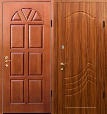 металлическая входная дверь мдф с двух сторон