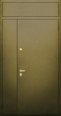 железная дверь с порошковым напылением и внутри белёный дуб