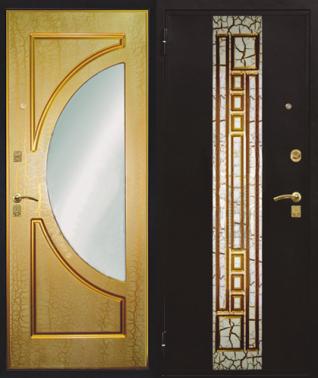 купить железную дверь с зеркалом дешево