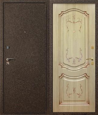 металлические двери отделка мдф юзао