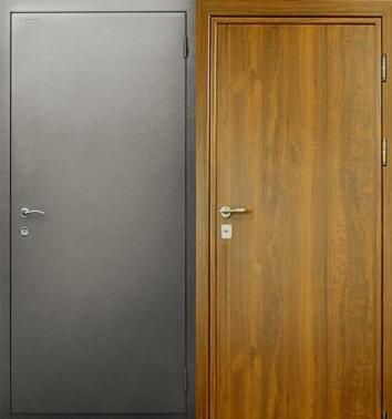 металлические двери отделка нитроэмаль