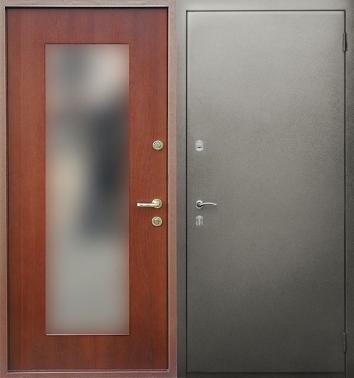 купить входную металлическую дверь внутри зеркало в москве